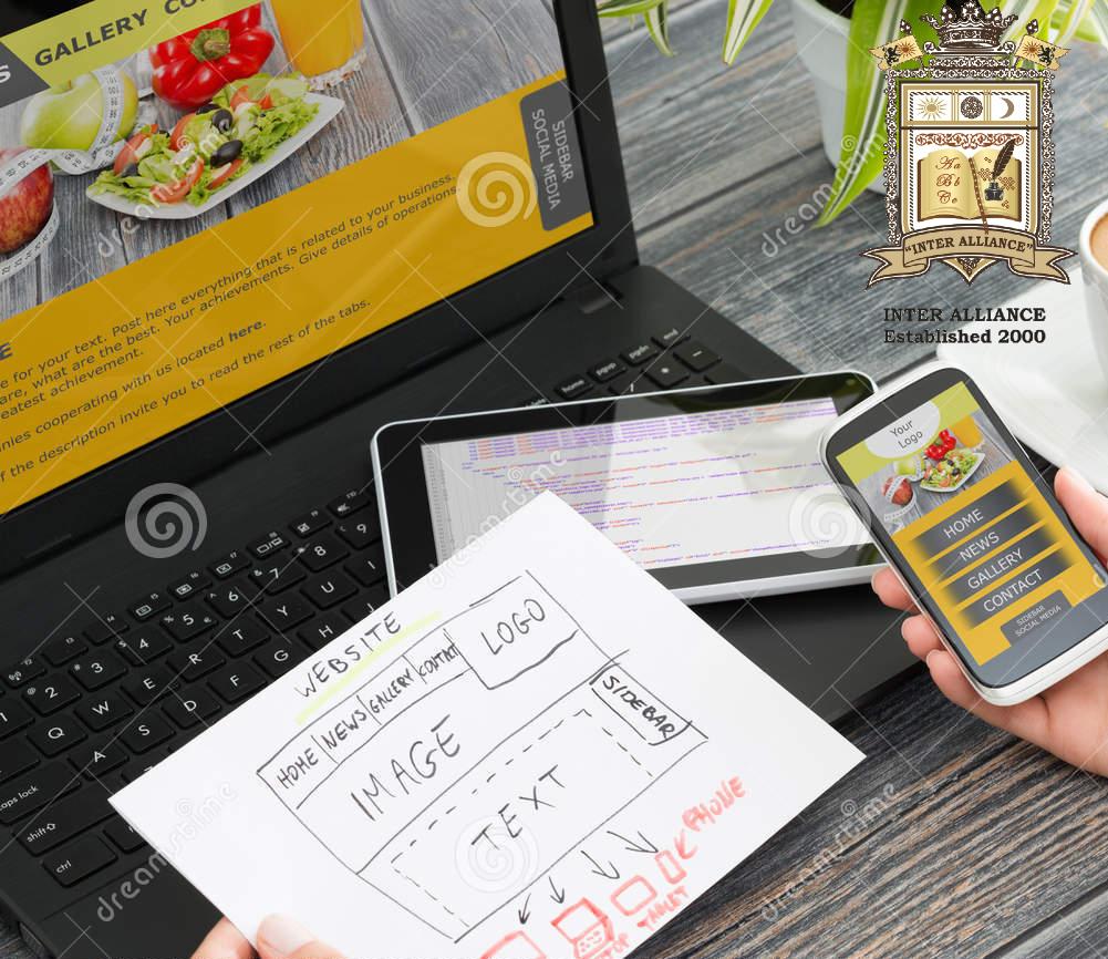 Курс по Web Дизайн с HTML от 1-во до 3-то Ниво от INTER ALLIANCE