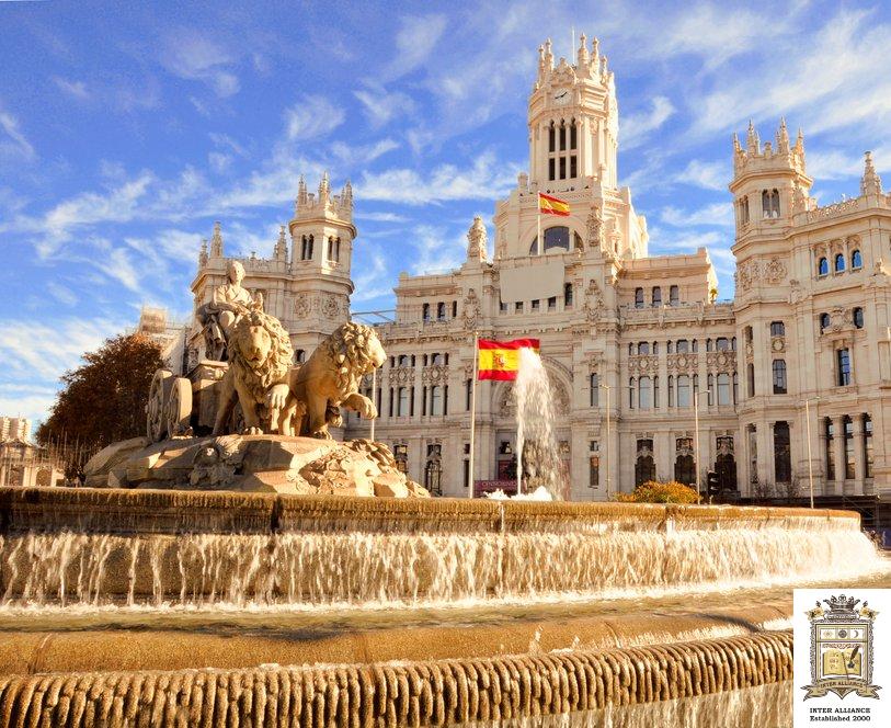 Курс по Испански Език от Ниво A1 до C1 от INTER ALLIANCE