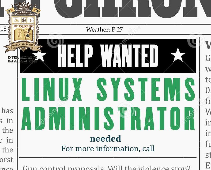 Курс по Linux Системна Администрация от 1-во до 3-то Ниво от INTER ALLIANCE